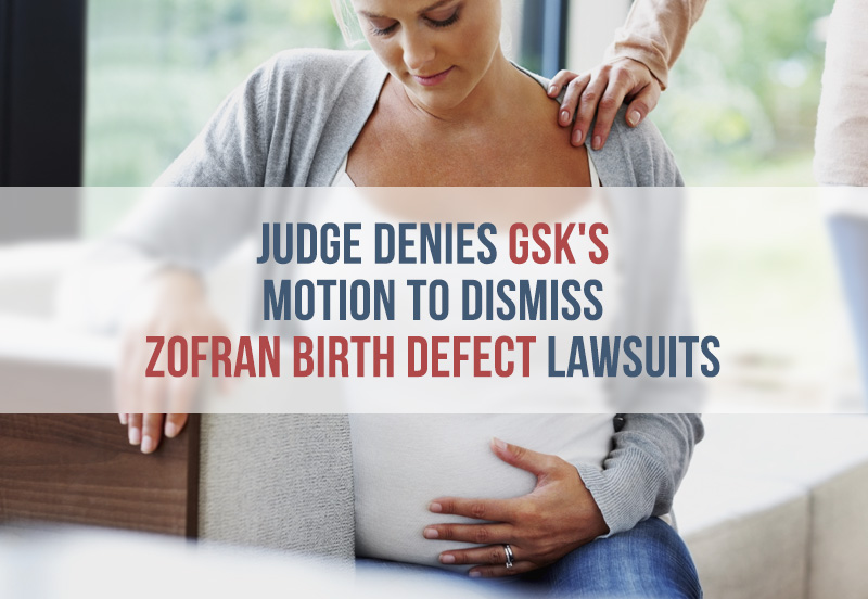 Families Sue GSK Over Zofran