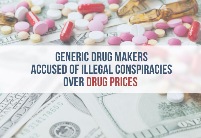 drug makers illegal pricing conspiracy