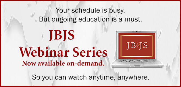 JBJS Webinar Series