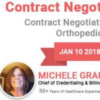 Orthopedic Surgeons Negotiate Your Network Contracts for Higher Reimbursements