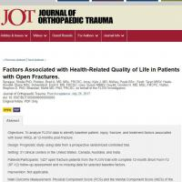 Factors Associated with Health-Related Quality of Life in Patients with Open Fractures