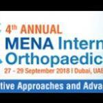 Fourth Annual MENA International Orthopaedic Congress