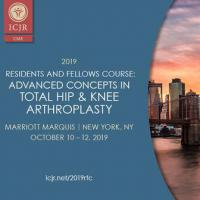 2019 ICJR Residents & Fellows Course