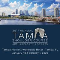 26th Annual Tampa Shoulder Course: Arthroplasty and Sports