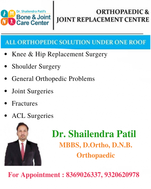 Orthopedic Clinic In Mulund & Thane | Dr. Shailendra Patil | Bone And Joint Care Center
